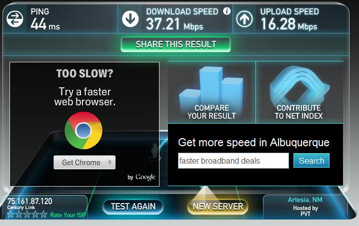 SpeedTest-CenturyLink-01242013
